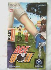 61103 Instruction Booklet - Ace Golf - Nintendo Gamecube (2002) DOL-GWGP-UKV-M