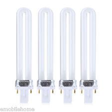 4pcs 9W LED Nail Dryer UV Lamp Environmental Protection Manicure Light Bulb