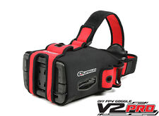 Quanum DIY FPV Goggles V2 Pro Kit Multi-Purpose Goggle Glove PAL/NTSC Support US