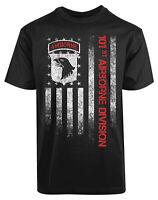 101ST Air Borne Division New Men's Shirt Eagle Fighter Jet Gift Tee
