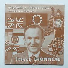 JOSEPH LHOMMEAU Yes si oui ja l Europe est la  adp