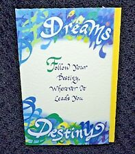 New Dreams Destiny all/any occasion greetings card