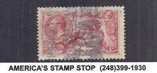 1919 GB Great Britain SC 180 Used 5sh Carmine Red - Seahorses, KGV*