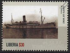 La première guerre mondiale ss/hms Patuca armed merchant cruiser/atlantique nord convoi navire de guerre timbre