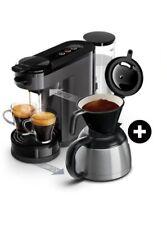 Philips Senseo Switch HD6591/21 cafetière Machine à café 2 en 1 Gris Titanium 1L