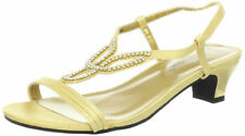 Wide (C, D, W) Synthetic Solid Sandals & Flip Flops for Women