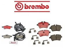 Mini Cooper R50 2006 L4 1.6L Brembo Complete Rear Front Brake Pad Set Kit