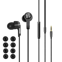 Stereo Piston 3 III In-ear Earphone Headphone Headset With Remote Mic For Xiaomi
