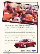 1997 Chevrolet Cavalier Original Advertisement Car Print Ad J351