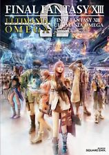 NEW!! Final Fantasy XIII 13 Ultimania Omega art works Book Japan F/S W/Tracking