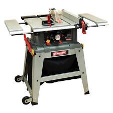 """Craftsman 10"""" Inch Table Saw w/ Laser Trac Precision Speed Cut Wood Cutting Saws"""