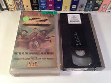 Attack Force Z Rare Australian Action War Drama VHS '82 OOP Mel Gibson Sam Neill