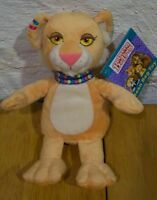 """Between the Lions LEONA LION 8"""" Plush STUFFED ANIMAL Toy NEW w/ TAG"""