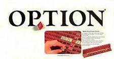 Jeu de société Option - Miro-Meccano - Mots-croisés - 1982 - Boîte vieillie