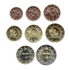 Chipre 2012-Juego De 8 Monedas De Euro (unc)