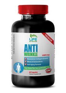 Green Tea Capsules - Anti-Wrinkle 1400mg - Wrinkle Reducer 1B