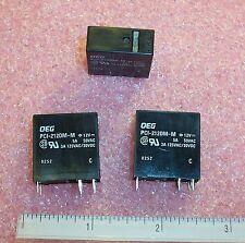 QTY (25) PCI212DM-M-12V OEG 12V DPST-NO PCB RELAY 6-1419124-8 NOS 1 TUBE