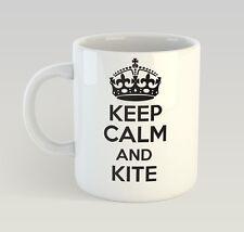 Keep Calm And Kite Mug Funny Birthday Novelty Gift Kiting