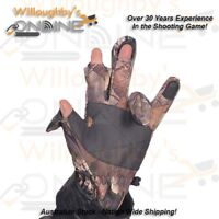 Camo Hunting Gloves Trigger Finger Shooting Archery Gear
