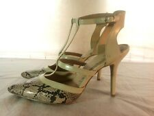 Brash Python Print High Heel Shoes Women's Size 12