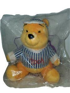 "Mcdonalds HAPPY MEAL 7"" Winnie the Pooh Beach Plush * Still In Original Bag"
