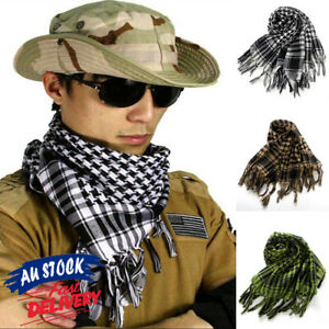 Palestine KeffIyeh Face Scarf Neck Mask Shemagh Military Tactical  Arab Army