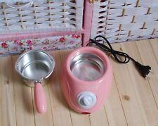 New Pink Mini Melted Fountain Chocolate Pot Fondue Self-restraint Heated Machine
