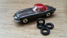 Corgi Toys 307 E Type Jaguar Tyres Set Of 4 Brand New !!