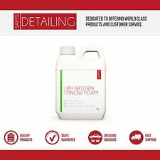 1L Pro Detailing Valet  PH Neutral Snow Foam Cleaner 1L 1 Litre - Concentrated