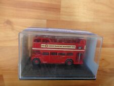 OXFORD 1/76 LONDON TRANSPORT OPEN TOP TOUR SIGHTSEEING ROUTEMASTER BUS RM106
