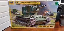 BRAND NEW Zvezda Soviet heavy tank KV-2 Assembly kit model 1:35 no.3608