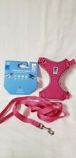 Pink RC Pets Soft Adjustable Adventure Kitty Cat Harness & 6 ft Leash Size M