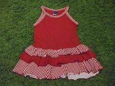 Red Summer RaRa Dress.  Age 12-18 Months