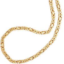 NEU 3,2 mm Königskette 585 Gelbgold 42 cm echt Gold Kette Halskette 14 Karat 31g