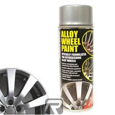 E-Tech Alloy Wheel Paint / 400ML Aerosol Spray Paint - Metallic Silver