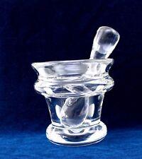 ✅ Schöner Leerdam Kristal Mörser / Crystal / Glas / No.72 / sehr massiv - 8kg #O