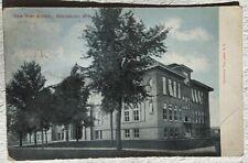 Postcard New High School, Reedsburg, WIS