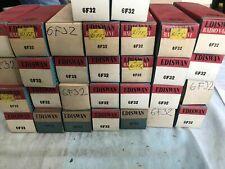 Mazda Ediswan 6F32 x10. NOS vacuum tubes. Original packaging. Vintage.