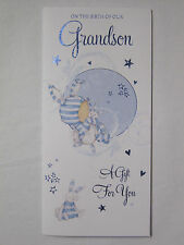 ON THE BIRTH OF OUR GRANDSON A GIFT FOR YOU MONEY WALLET GREETING CARD