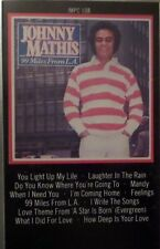 Johnny Mathis    99 Miles from L.A.   Music Cassette