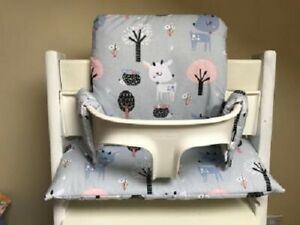 Cushion to fit Stokke Tripp Trapp High NEW DESIGN Fawns in the Forest BNIB