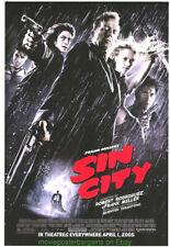 Sin City + Lotr Mini-Sheet+ Into The Blue Movie Poster All Original Stuff !