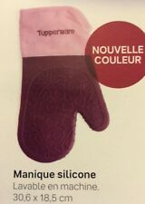 """"""" nouvelle couleur """" MANIQUE SILICONE   Tupperware NEUF"""