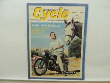 March 1966 Clymer Cycle Magazine Don Drysdale Bridgestone 175 Moto Guzzi L11028