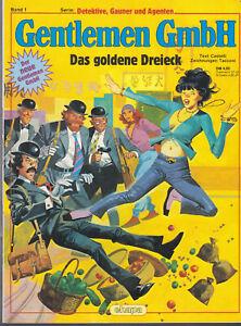 """Gentlemen GmbH Band 1 """"Das goldene Dreieck"""", Ehapa 1982 - Mehr im Shop"""