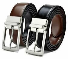 Reversible PU-Leather Formal Casual Black / Brown Belt Men Belts Gift For Gents