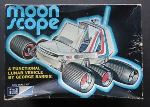 Moonscope Lunar Vehicle 1/25 MPC Model Kit 1-0628 George Barris Missing One Axle