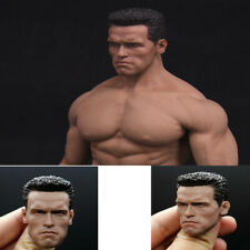 "1/6 Arnold Schwarzenegger Head Sculpt Terminator  Fit 12 ""Action Figures Toys"