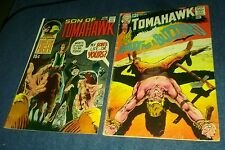 Tomahawk 119 son of 131 dc silver age western comics lot tales gunfighters movie