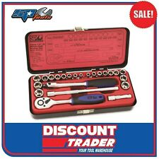 "SP Tools 23 Piece 1/4"" Drive 6 Point Socket Set - SP20102"